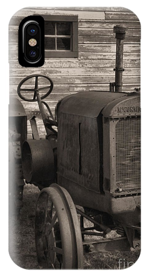 Abandoned IPhone Case featuring the photograph The Old Mule by Richard Rizzo