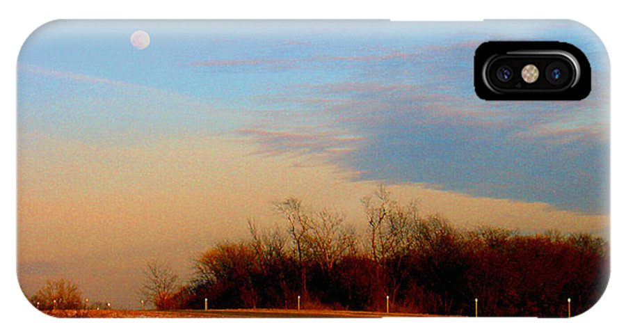 Landscape IPhone X Case featuring the photograph The On Ramp by Steve Karol