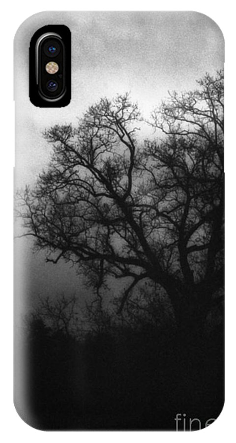 Eerie IPhone X Case featuring the photograph The Other Side by Richard Rizzo
