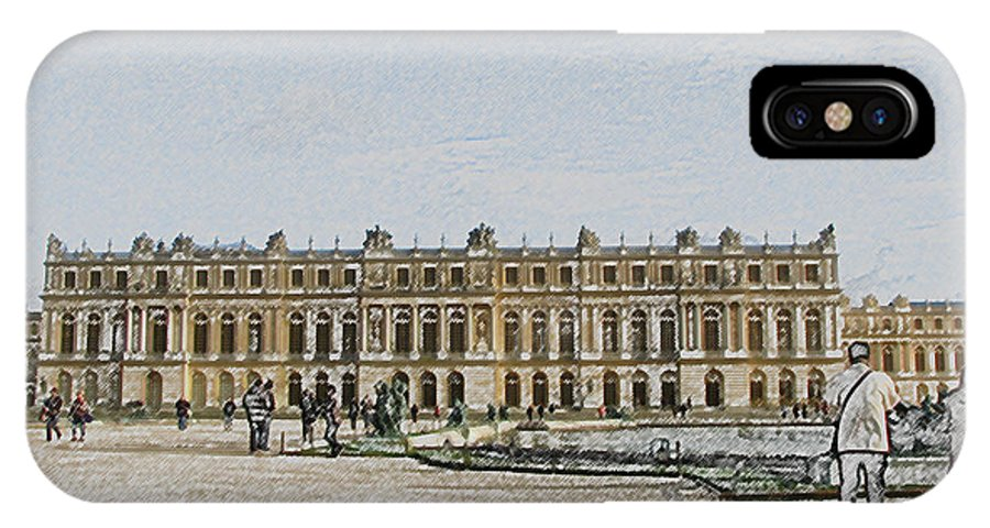 Palace IPhone X Case featuring the photograph The Palace Of Versailles by Amanda Barcon