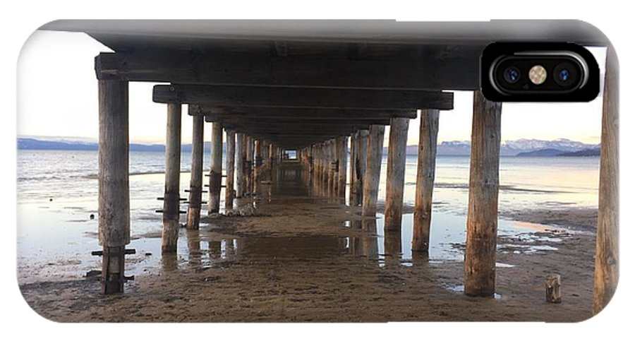 Pier IPhone X Case featuring the photograph The Pier by Christina McNee-Geiger