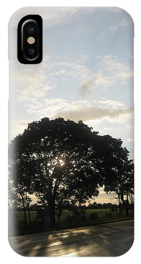 Landscape IPhone X Case featuring the photograph The Storm Has Passed by Patrick Murphy