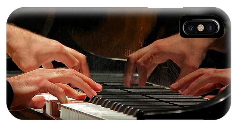 Hands IPhone X Case featuring the photograph The Recital by Alan Buck
