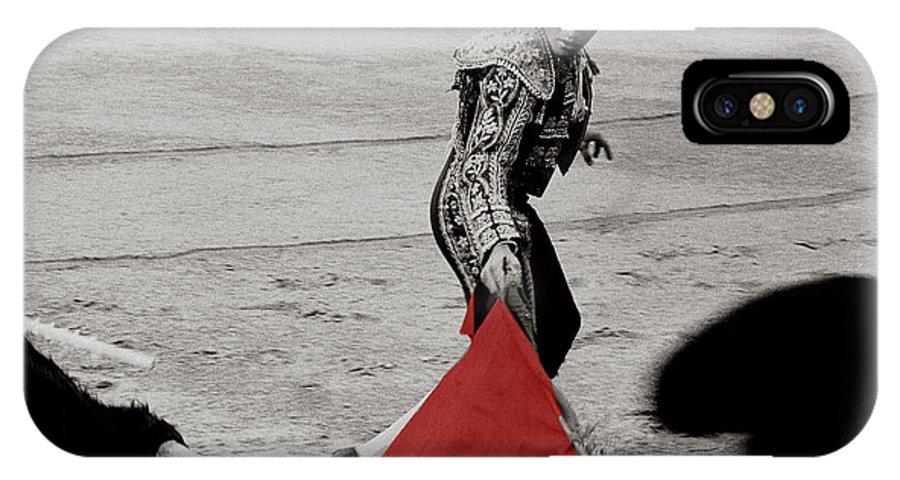 Cape IPhone Case featuring the photograph The Red Cape by Michael Mogensen
