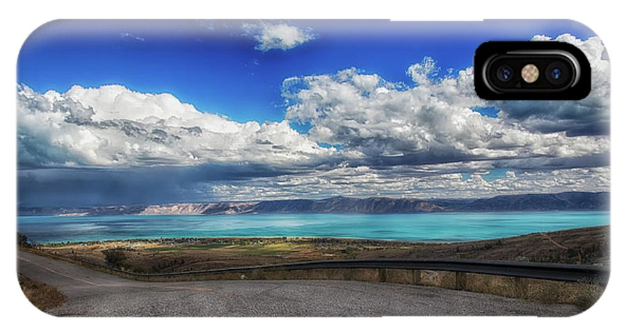 Bear Lake IPhone X Case featuring the photograph The Road To Bear Lake by Mitch Johanson