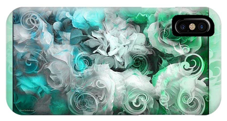 The Roses Of Josephine IPhone X Case featuring the photograph The Roses Of Josephine by Daniel Arrhakis