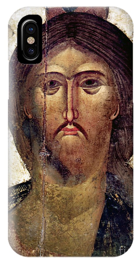 14th Century IPhone X Case featuring the photograph The Savior by Granger