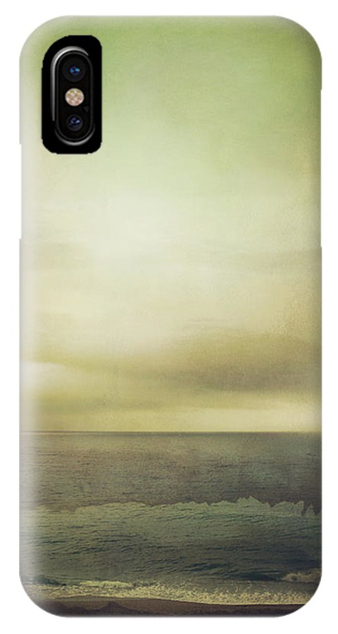 Sea IPhone X / XS Case featuring the photograph The Seashore by Mark Owen