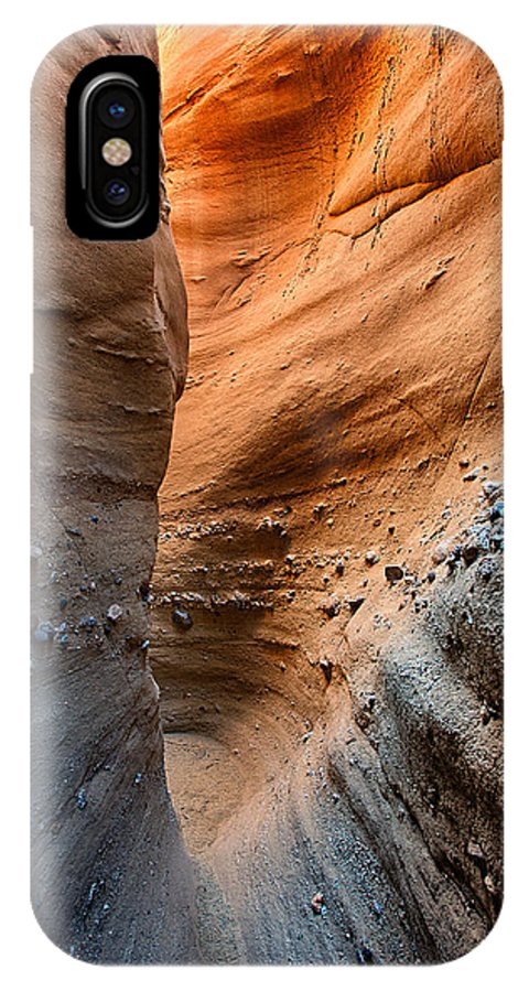 Slot IPhone X Case featuring the photograph The Slot by Peter Tellone