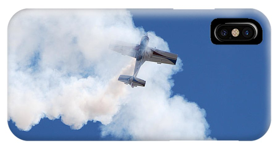 Aircraft IPhone X Case featuring the photograph The Stall by Larry Keahey