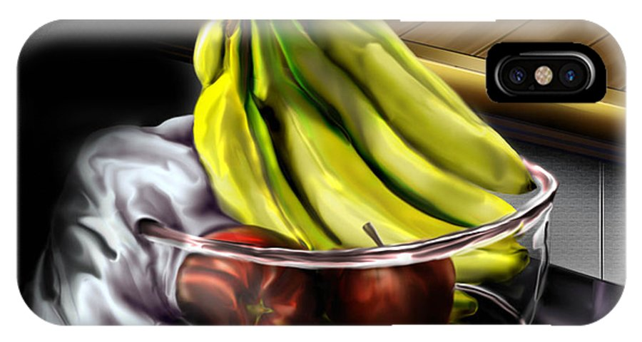 Still Life Painting IPhone X Case featuring the painting The Still Of Peace by Reggie Duffie