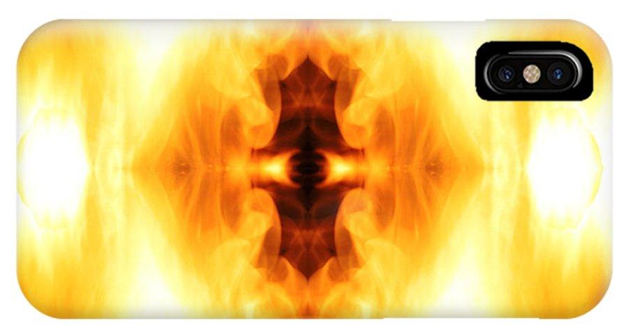 Third Eye IPhone X Case featuring the photograph The Third Eye by Munir Alawi