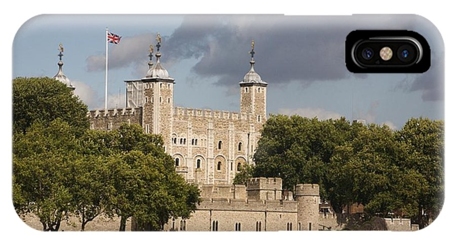 Towers IPhone X Case featuring the photograph The Tower Of London. by Christopher Rowlands