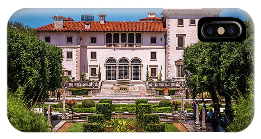 Vizcaya IPhone X / XS Case featuring the photograph The Tropical Estate by Vincent Asbjornsen