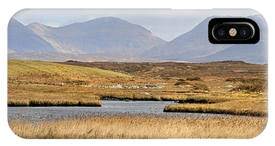 Twelve IPhone X Case featuring the photograph The Twelve Bens Mountains Connemara Ireland by Pierre Leclerc Photography