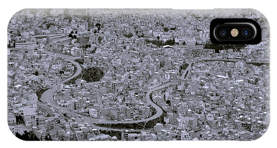 La Paz IPhone X / XS Case featuring the photograph The Urban City by Shaun Higson