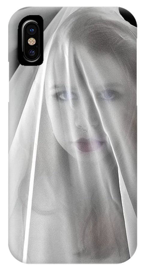 Photograph IPhone X Case featuring the photograph The Veil by Ron Cline