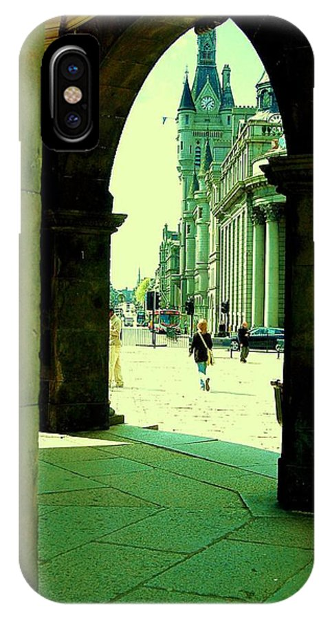 Boy IPhone X Case featuring the photograph The Way by HweeYen Ong