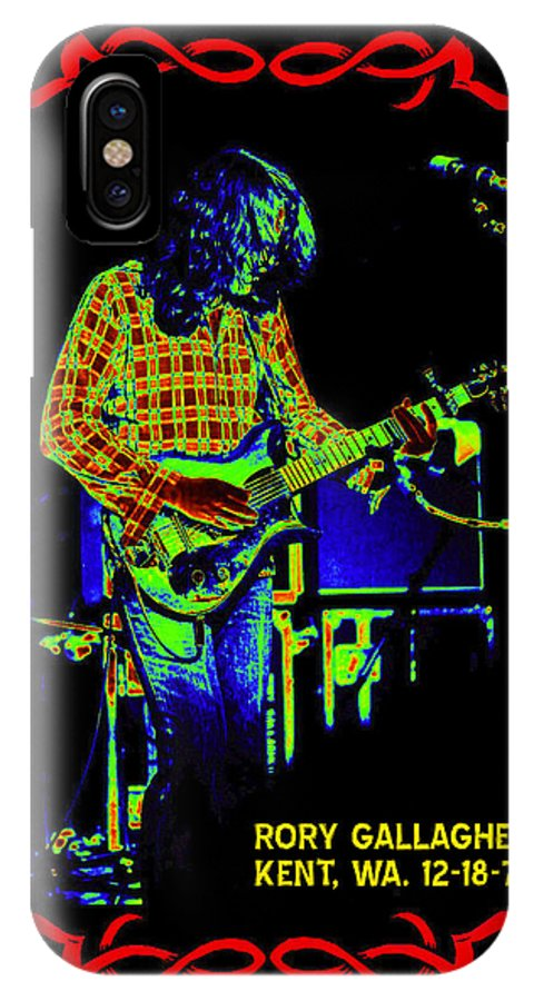 Rory Gallagher IPhone X Case featuring the photograph The Wayward Child by Ben Upham