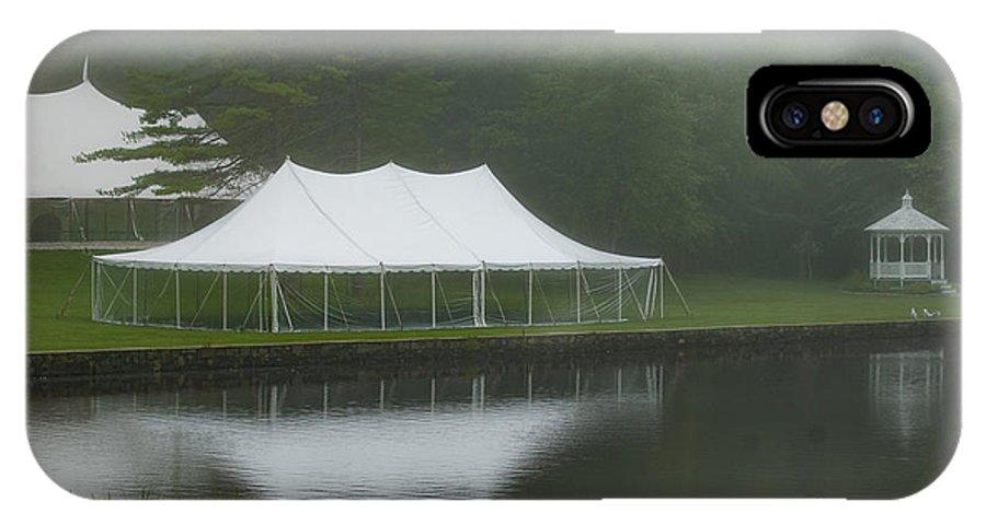 Wedding IPhone X Case featuring the photograph The Wedding Venue by Faith Harron Boudreau