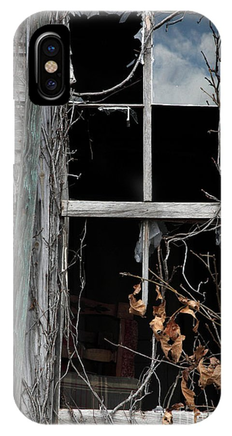 Windows IPhone Case featuring the photograph The Window by Amanda Barcon