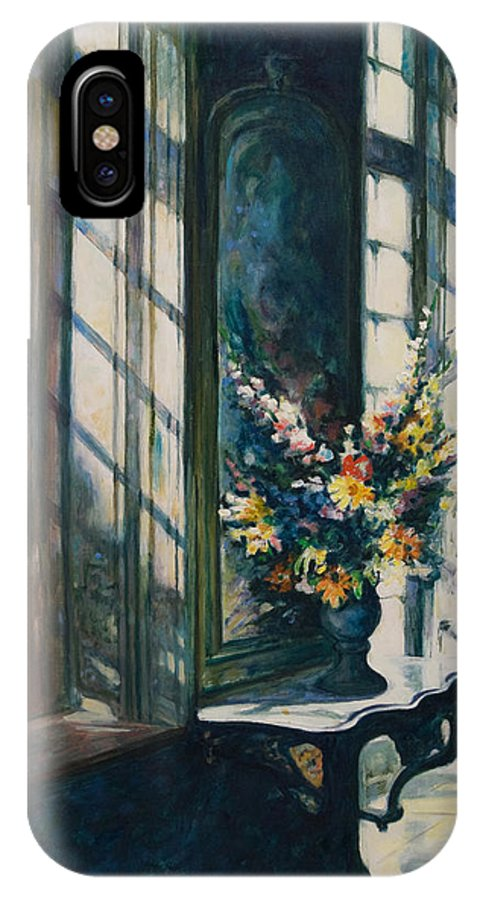 Window IPhone Case featuring the painting The Window by Rick Nederlof