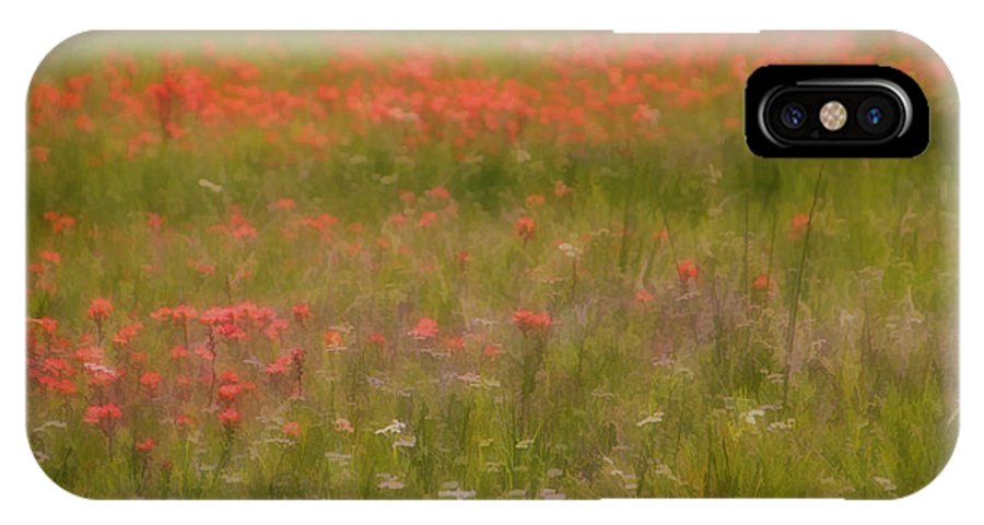 Spring IPhone X / XS Case featuring the photograph The Wonders Of Spring by Carolyn Fletcher