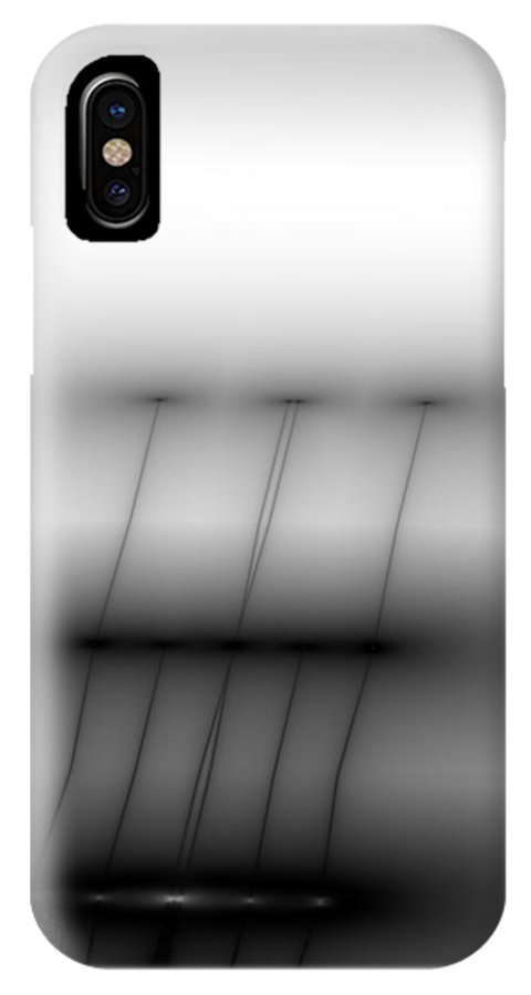 Vic Eberly IPhone X Case featuring the digital art Then There Were Three by Vic Eberly