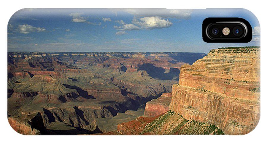 Grand Canyon IPhone X Case featuring the photograph This Is My Father's World by Kathy McClure