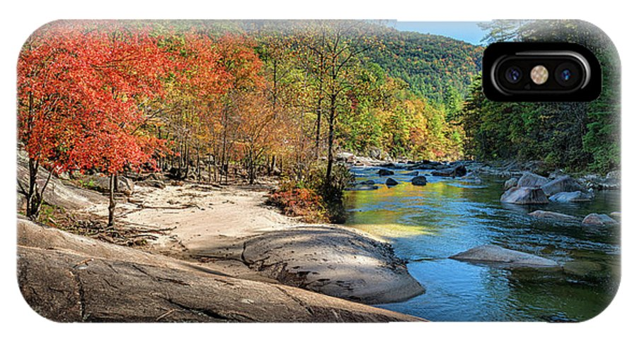 Wilson IPhone X Case featuring the photograph This Is Wilson Creek by Mike Koenig
