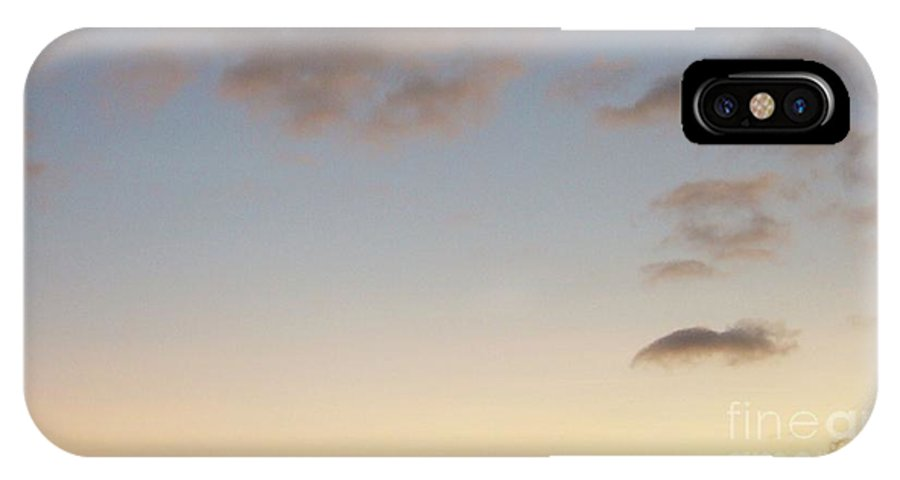 Sunrise IPhone X Case featuring the photograph This Is Your Day by Leonore VanScheidt