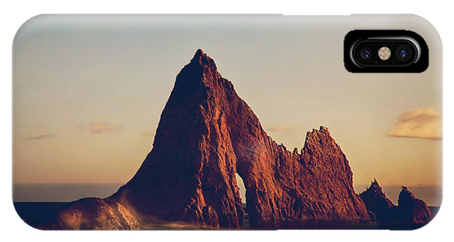 Martins Beach IPhone X Case featuring the photograph This Need In Me by Laurie Search