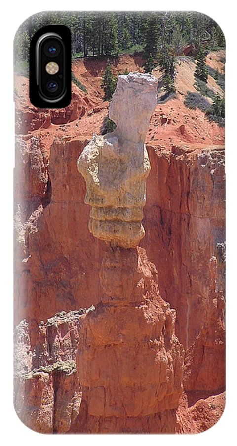 Bryce IPhone Case featuring the photograph Thor's Hammer by Louise Magno