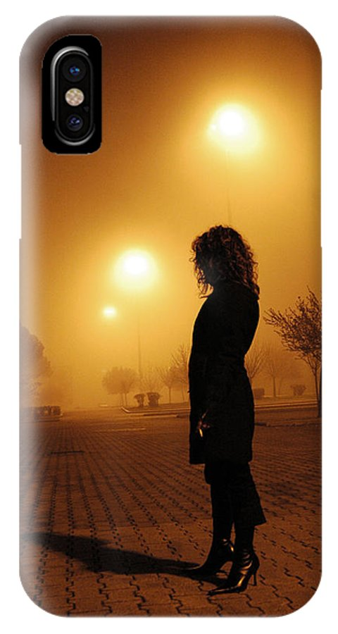 Italy IPhone X Case featuring the photograph Thru The Fog by Diego Bonomo