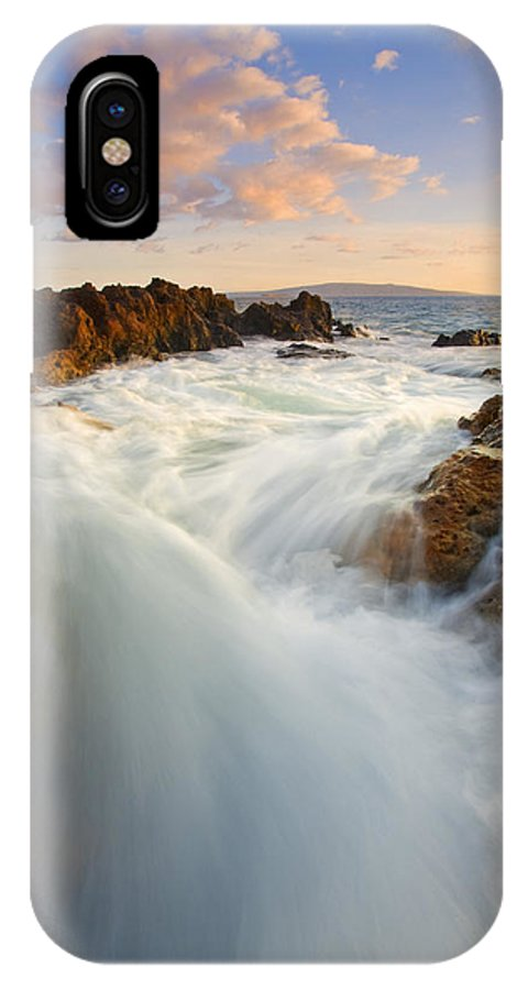 Surge IPhone X Case featuring the photograph Tidal Surge by Mike Dawson