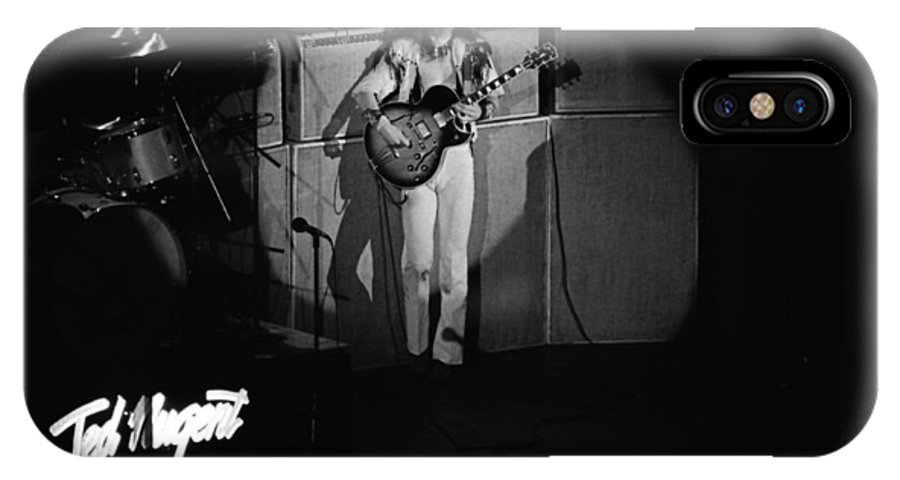 Classic Rock IPhone X Case featuring the photograph Tn#38 by Ben Upham