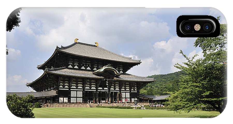 Todaiji Temple IPhone X Case featuring the photograph Todaiji Temple by Andy Smy