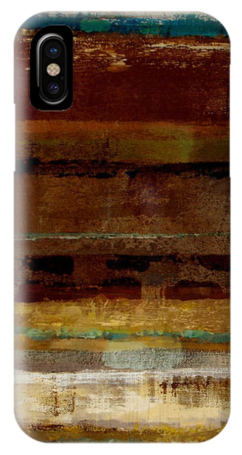 Abstract IPhone Case featuring the painting Togetherness by Ruth Palmer