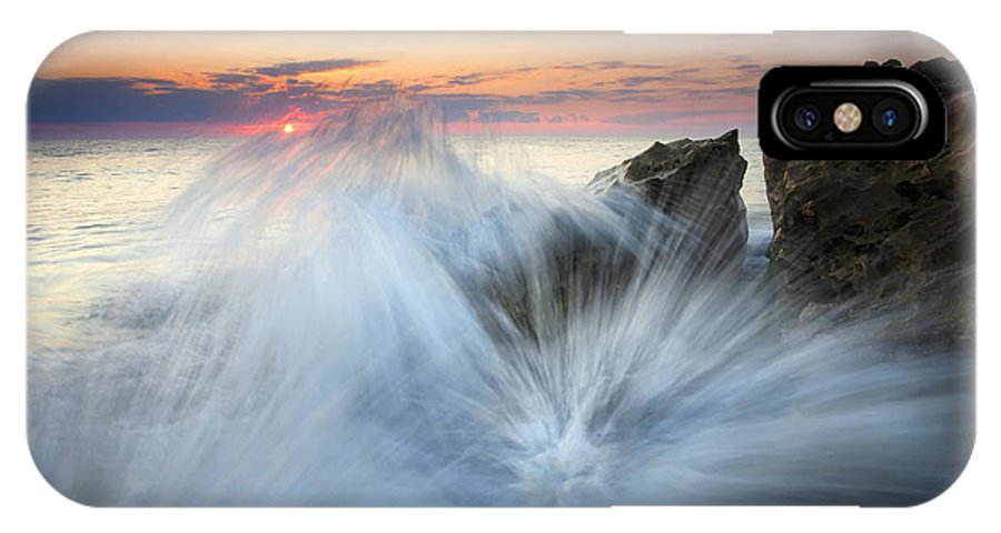 Sunrise IPhone Case featuring the photograph Too Close For Comfort by Mike Dawson