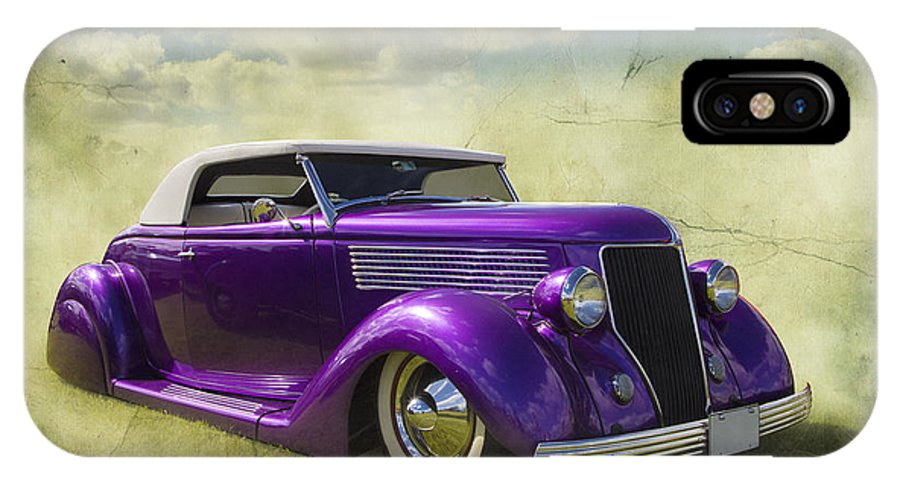 Car IPhone X Case featuring the photograph Too Cool by Keith Hawley