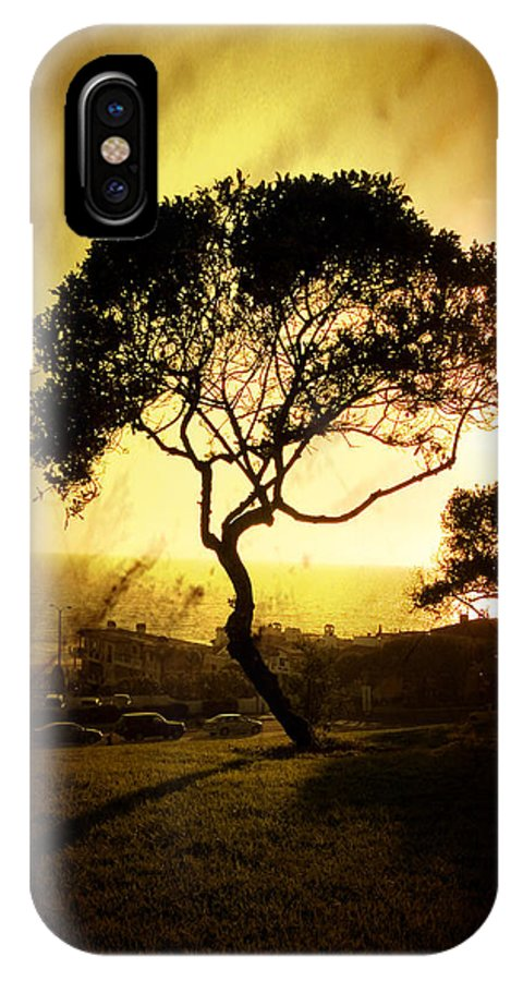 Tree IPhone X Case featuring the photograph Top Of The Hill by Scott Pellegrin