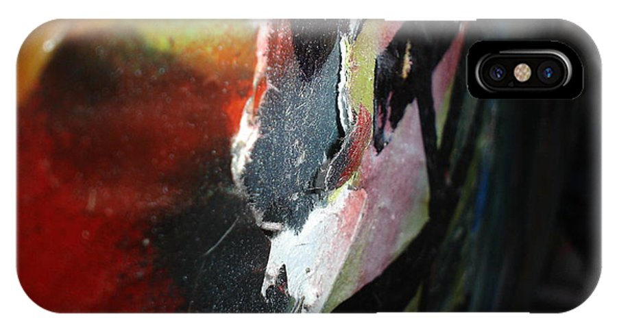 Street Art IPhone X Case featuring the photograph Torn by Chandelle Hazen