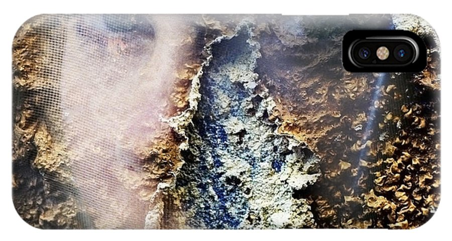 Female IPhone Case featuring the photograph Torn by Skip Hunt
