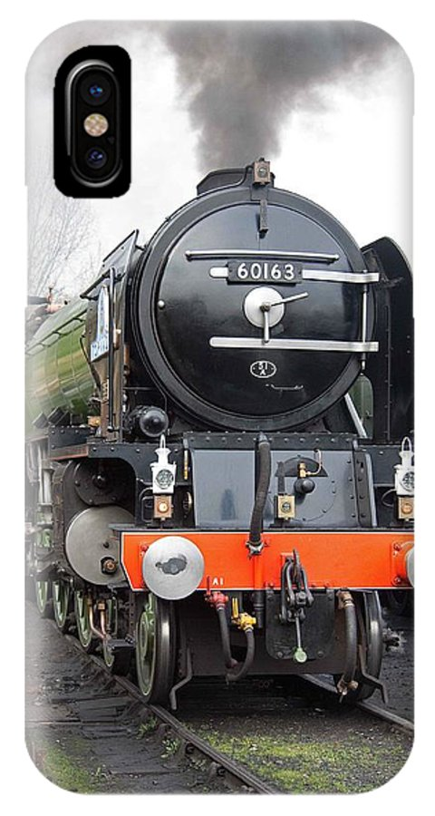 Steam IPhone X Case featuring the photograph Tornado Living Steam by Bob Kemp