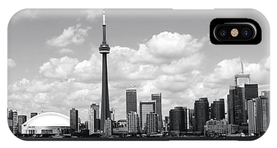 Toronto Skyline IPhone X / XS Case featuring the photograph Toronto Skyline 11 by Andrew Fare
