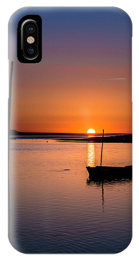 Sunset IPhone X Case featuring the photograph Touched By The Sun by Edgar Laureano