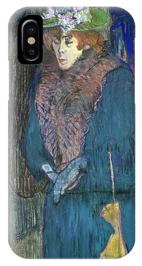 1892 IPhone X Case featuring the photograph Toulouse-lautrec: J.avril by Granger