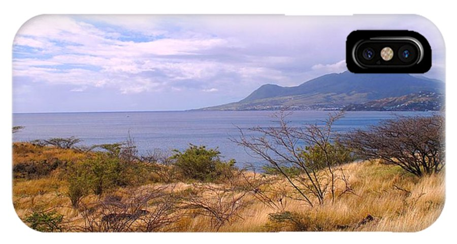 St Kitts IPhone X Case featuring the photograph Towards Basseterre by Ian MacDonald