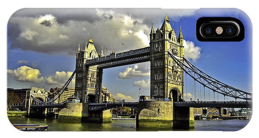 Bridge IPhone X Case featuring the photograph Tower Bridge I by Madeline Ellis
