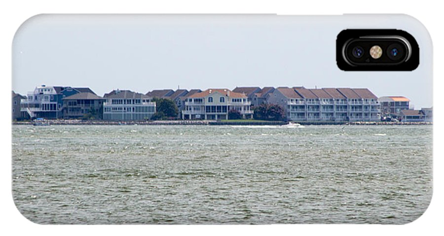 Houses IPhone X / XS Case featuring the photograph Town On The Water by Chris W Photography AKA Christian Wilson
